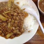 会飯よこ多 - ジャガイモ会飯¥600
