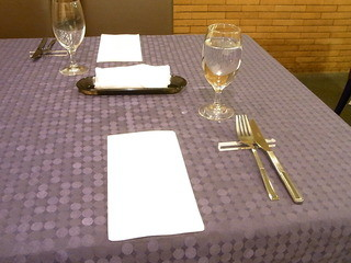 ポルポ - 最初のテーブルセッティング☆♪