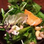 花様 - ランチのサラダ☆おかわり自由!