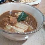 35073085 - 季節の野菜カレー(かぼちゃと白菜)