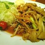 35073738 - 生姜焼き定食(アップ)