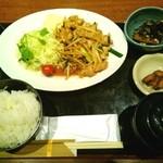 35073741 - 生姜焼き定食