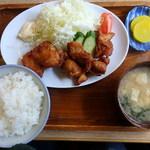 貴勝 - 料理写真:ザンギ定食