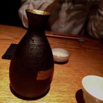 Girogirohitoshina - 日本酒のおちょこも自分でセレクトさせてくれます