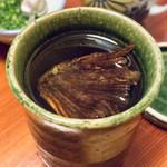 ふく政 - ヒレ酒
