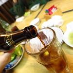 忠弥 - 秘技!特製カクテル&黒ビール!