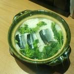 35076692 - 秋刀魚の土鍋ご飯