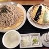 食い処 みちく彩 - 料理写真:野菜天ざる(822円)+大盛り(103円)