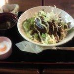 3508018 - 味噌玉ハンバーグ丼