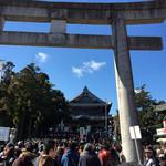 Fujiiya - 1月3日、お稲荷さんは、すごい人でした。
