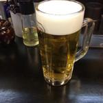 Ramentatsumi - 生ビール(500円)