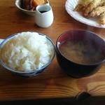手づくり料理のお店 レストラン マツキ - ハンバーグ定食(ハンバーグは撮り忘れ)