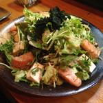 鳥半・魚半 - 豆腐サラダ