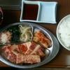 明和苑 - 料理写真:焼肉ランチ(カルビ)