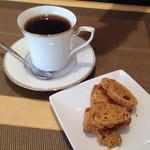 パントエ - 湯〜ラスクとコーヒー