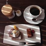 さとう珈琲 - セットのデザート コーヒー