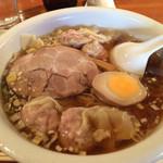 鍋家 - ワンタン麺  2015年2月