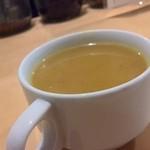 自然派カフェ 米野かりぃ堂 - 濃厚野菜スープ