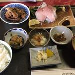 Sekinoteikatsumaru - 刺身定食