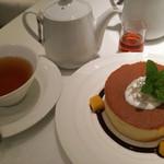 カフェテラス銀木犀 - パンケーキ★★★☆