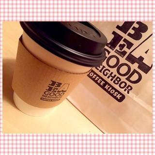 ビー ア グッド ネイバー コーヒー キオスク 千駄ヶ谷