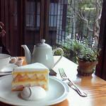 35088660 - 2009年8月 桃のショートケーキ