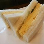 Cafe ULURU - 玉子サンド