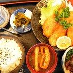 笹すし - 料理写真:魚フライ