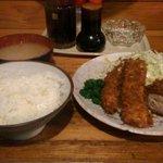 とんかつ 諏訪 - フライ定食