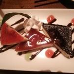 なすの与一 - バレンタインだったので、デザートのサービスが♪(*^^*)