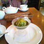 カフェ ブラン - 抹茶アフォガード
