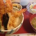 なぎさ - 料理写真:鋸山天丼(¥1,450)