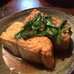 35092014 - ②揚げ豆腐