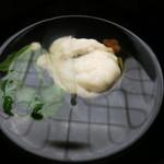 匠の宿 佳松 - 椀物 蛤シンジョ 葛水仙 メカブ 梅人参 柚子