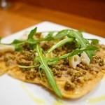 ル ピニョン - 豚リエットの薄焼きタルト