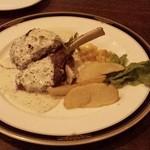 キッチンズバー リーヴ - 仔羊の香草パン粉焼き