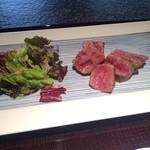 竹彩 - ミディアムレアで 溶けるお肉