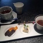 竹彩 - デザートと紅茶