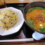 台湾料理福満楼 - ランチ:ラーメンセットです。