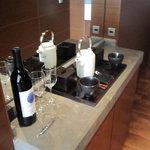 グランドハイアット東京 - 赤ワインのサービス