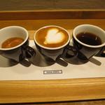 COFFEE VALLEY - スリー・ピークス:エスプレッソ、マキアート、コーヒー1