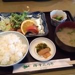 花月亭 - マグロステーキ定食
