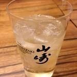 北新地たゆたゆDX - 山崎ハイボール 600円(税抜)