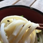 橋本製麺所 - 多少時間は経ってるものの、モチモチ度は持続して十分美味しい~♫
