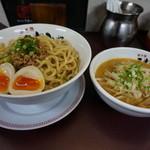 35103190 - 濃厚味噌つけ麺【850円】(2015/1/29)