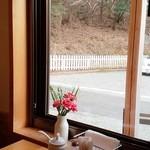 リポサーレ - 窓からの眺め。