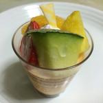 創作菓子 ロッシェ - ロッシェプリン 320円