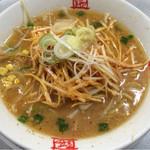おおぎやラーメン - 料理写真:ネギ味噌らーめん 810円