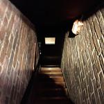 ビオディナミ - 階段あがったらこんな感じ。秘密感満載。