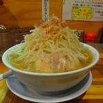 神起 - ラーメン大盛(野菜マシ)